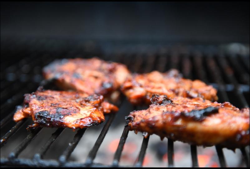 un délicieux barbecue