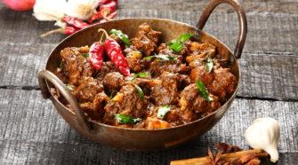 Un beau curry de cerf