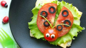 Une assiette pour les enfants