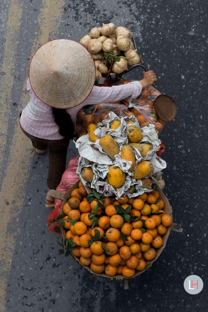 Le marchand d'agrumes