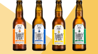 La nouvelle bière : The Thirsty Fox