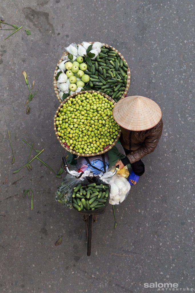 Le marchand de concombres