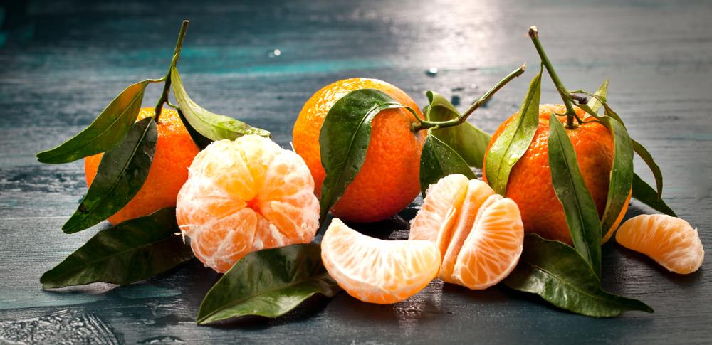 De belles mandarines