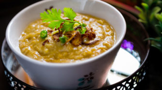 une belle soupe appétissante