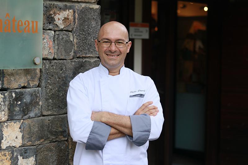 Le chef Fabio