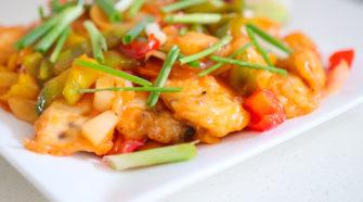 recette du poisson aigre doux