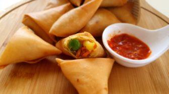 recette du samoussa aux légumes