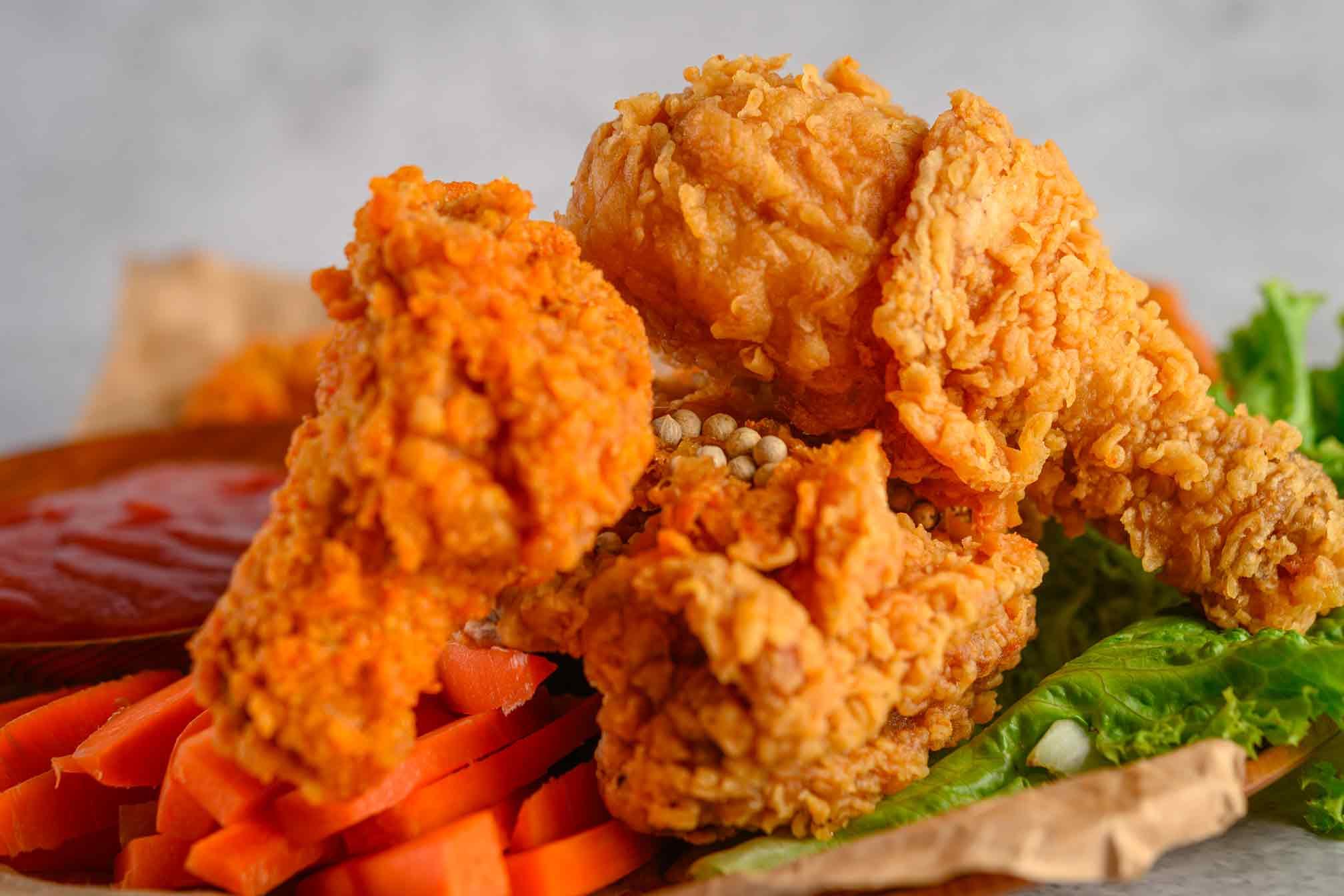 Recette du Spicy Fried Chicken